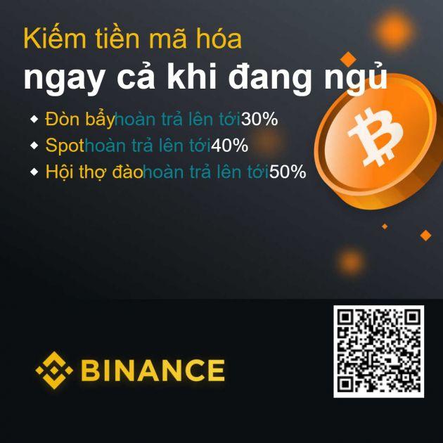 Kiếm tiền với Binance